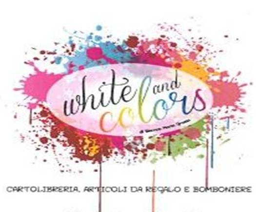 white and colors
